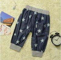 ТЗ-35037 мальчиков моды печатных сарты 95% хлопок 5% спандекс джинсы шаровары бесплатная доставка