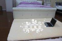 ca10605 коврик в японском стиле ковер белый цвет 90 * 160 см 3 см длины волос 1 шт./лот мягкий коврик ковер - скольжения ручной работы пола