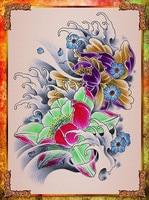 профессиональный татуировки книга для татуировки static Flash книга