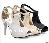 рыба рот сандалии женское студенты высокая туфли на высоком каблуке обувь водонепроницаемый обувь сексуальный клуб стилеты пряжки gh65