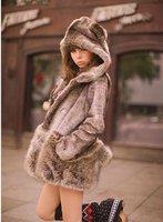 wuman милый медведь ха синуса пальто три размер, М / Л бесплатная доставка