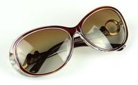 женщины в поляризованные круг рама солнечные очки солнечные очки uv400 и цвета для дамы