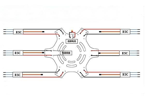 hexacopter wiring diagram repair manual Light Switch Wiring Diagram