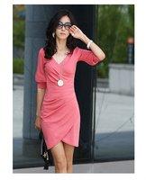 леди черный Seal платье, экипаж шеи платье, бесплатная доставка, высокое качество, Bolt платье 3 дн. ведущих, дешевые, оптовая продажа 1 шт., много / - ly8676