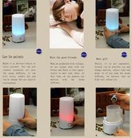 ультразвуковой эфирное масло диффузор с 7 цветов изменение с аромат туман диффузор и увлажнитель воздуха