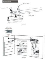 800 н автоматические гаражные ворота машина, цепочки дверные доводчики, сделано в китае двери гаража двигателя бесплатный подарок 3 м трек