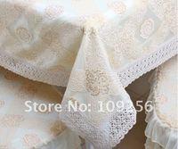 бесплатная доставка! кружева скатерти кружево домашний текстиль оптовой и розничной торговлей вязание край скатерти