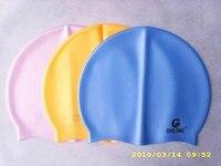 силикон для купания, для взрослых шапочки для купания, шапочка, бесплатная доставка по EMS