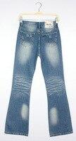 горячая распродажа! бесплатная доставка / джинсы женщина / зима выделяют прямые джинсы джинсы / джинсы ра / / 3067