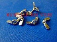 гайка барашковая гайка din315 стали с никелевым покрытием, м3 * 10 шт