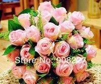 продаж, 30 цветы свадебные вручную цветок / свадьба бросить букет / реквизит для фотосъёмки / моделирования цветок, 12050302