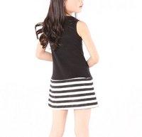 бесплатная доставка лето модели детское платье детское платье девушки платье ow248
