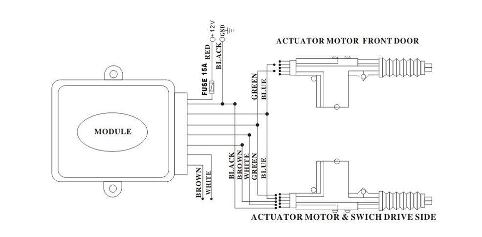 518863288_976 universal power door actuator wiring diagram diagram wiring Rotork Actuator Wiring Diagram at edmiracle.co