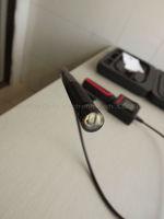 новое постулат 2.4 дюймов экран труба инспекции фотоаппарат с инструмент чехол boron труба змея водонепроницаемый эндоскопа 10 мм 4 светодиод, ХС-ic1a