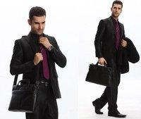 бесплатная доставка / порт сумки кожа мужской бизнес пакет компьютерные пакеты сумки мода мужчины сумка 2015 новый платье clutch