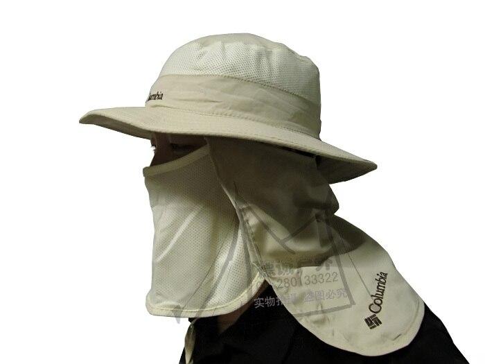 e2c3cb2b4b0 Outdoor Summer Men Women UV Protection Sun Block Fishing Hat Multicolor  Neck Protection Quick Drying Detachable Cap Free ship