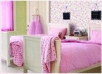 бесплатная доставка розовый буйный цветы дизайн виниловые обои для гостиной