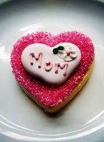 вау! - форма сердца печенье резак комплект, 10 шт. / много! 102948