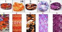 открытый 24 * 50 см эластичная ткань мужская магия доступные бас-многофункциональный шарфы шарф 167 + дизайн