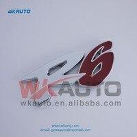 высокое качество 73 * 32 мм АБС Р6 necklace авто эмблема