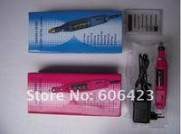 оптовая продажа в розницу 110 - 240 в ручка-розовый бюстгальтер файла истинно станок + биты бесплатная доставка МДж-02