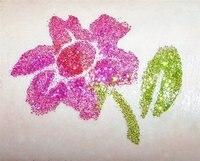 6 шт. - блесточки татуировки порошок для тело искусство - временный клеймо / тело живопись комплект - з / щетки / клей / трафареты