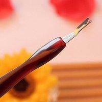 оптовая 450 х кутикулы толкатель триммер для удаления ЛАЛ ногтей инструмент, ногтей кутикулы триммер + бесплатная доставка