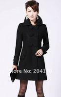 бесплатная доставка высокое качество женщин женский пальто женщин шерстяное пальто