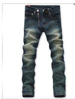новый стиль хлопок свободного покроя мужские джинсы классические мужские джинсовые брюки
