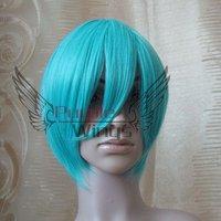 косплей 30 см воды синий косплей ну вечеринку парик / парики волосы