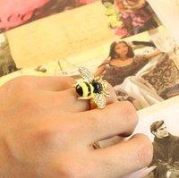 17 мм размер оптовая продажа красивые блестящие маленькие пчелы, бесплатная доставка j1123