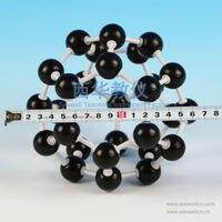 xcm-025-кристалл структура модель фуллерен углерода-с28-с60-с70-углеродных нанотрубок углеродных