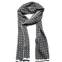 80296 женщин людей тёплый шарфы китай шерсть мягкий черный зима дизайнер акрил трикотаж полоска шотландка дамы шарфы