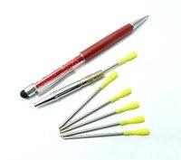 оптовые симпатичные кристалл ручка с бриллиантами шариковые ручки для написания канцтовары шариковая ручка офис школьные принадлежности для iPhone и iPad