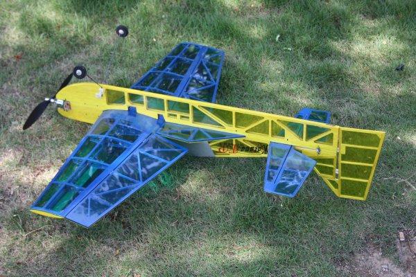 4ch Rc Plane Kit Electric 3d Plane Katana Kit Only Balsa Wood Plane