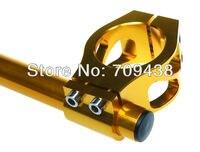 37 мм чпу клип на для Хонда cbr600 Ф 87 - 90 vf700 vfr750 86 - 87 Кавасаки ex500 94 - 02 Сузуки gs500 золото