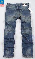 новый ] мужские джинсы / оригинал классические прямые джинсы / экстра-большие конструктор мужские брюки [ подарок ] j02