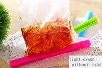 30 штук / много красочные пластик герметичность зажим одетый еда pods для хранения клип кухня аксессуары новинка домохозяйства