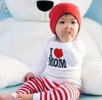 бесплатная доставка любовь мама и папа серии мальчик костюм спортивные костюм костюм детская одежда костюм дом ow268