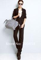 zc07045 спа-стиль с длинным рукавом черный хлопок combines для женщин