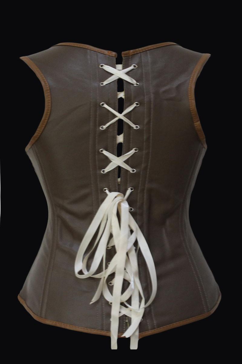Grand-Steampunk-Leather-Clasp-Corset-LC5323-12132