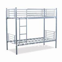горячая распродажа двухъярусная кровать, стали двухъярусная кровать из стали с порошковым покрытием доступны в 24 или 28kgs вес, конкурентоспособная цена
