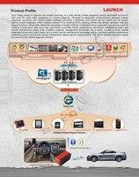 руковод первоначально авто диагно сканер для айфон и айпад для x431 диагно для iOS и интеллектуальная диагностика онлайн-обновление с DHL бесплатная