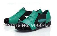 мед купорос удобные рад женское сандалии воздухопроницаемый сетки пряжа Pole низкая с женское кожа обувь