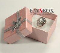 5, 0 х 5, 0 х 3, 3 см, 80 шт/много, с аксессуары лента бант, бумага квадрат серьги кольцо коробка, необычные бумага ювелирные изделия подарочная коробка