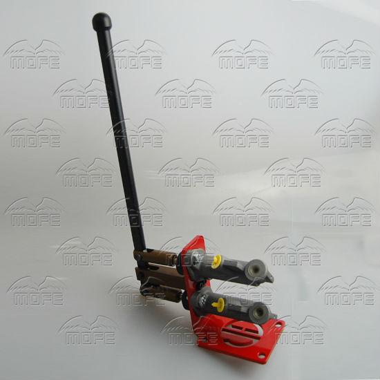 0.7 inch Dual Master Vertical Cylinder Hydraulic Drifting Handbrake Hand Brake E-brake DSC_0916