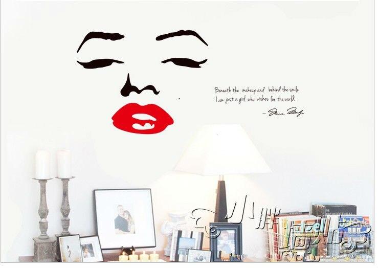 Home Decor Vinyl Wall Decals Quotes Bathroom Decoration Art Mirror Sticker Novelty Households Child Love Diy Kitchen Poster