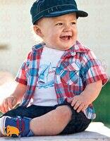 5 комплект / много мальчик Scotland лето комплект дети одежда