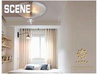 магический круг дизайн Е14 яркий простой стеклянный потолок свет