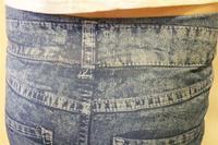 тонкий резинка все-матч личности пят брюки карандаш брюки леггинсы искусственной